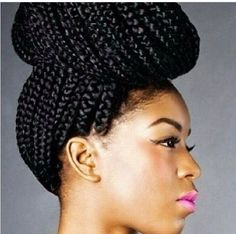 Swell Large Box Braids Box Braids And Braids On Pinterest Hairstyles For Women Draintrainus