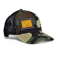 70fec3c905d Classic Mesh Snapback Baseball Hat- Camo Grey - CT12991LT8T - Hats  amp   Caps