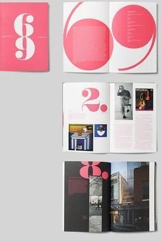 Love the look of this mag layout, cool idea with numbers