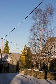 Winter in Stonesfield Village, Oxfordshire