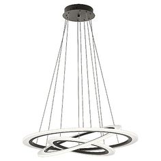 View the Elan Hyvo Large Chandelier Hyvo Large LED Chandelier at ...