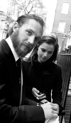 A beautiful photo of Tom & Charlotte from 2012, by Zoe Norfolk. She wrote this about it:  Recently I photographed the actor Tom Hardy - ...