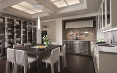 Classic kitchen with handles: BeauxArts.02 | siematic.com