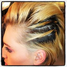 Hairspiration: We Can't Stop! On Set hair inspired by Miley Cyrus in her We Can't Stop video!