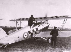 1931 - Royal Air Force (RAF) Hawker Fury (Single-Engined Piston Biplane Fighter)
