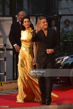 George & Amal Clooney 5/25/15