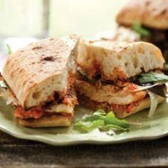 Grilled Chicken Ciabatta Sandwich | foodraf
