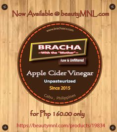 Begin your wellness journey and shop Bracha Apple Cider Vinegar, unrefined, unpasteurized, and unfiltered apple cider vinegar. authentic with nationwide delivery on BeautyMNL. Apple Cider Vinegar Remedies, Unfiltered Apple Cider Vinegar, Apple Cider Vinegar Benefits, Hair Loss Remedies, Home Remedies, Natural Remedies, Tummy Wrap, Tighter Skin, Postpartum Belly