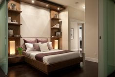 Dolce at Symphony Place. Loft Collection featuring sliding frosted glass panel doors for enhanced privacy.