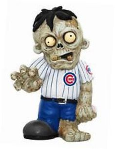 Chicago Cubs Zombie Figurine Man Cave Collectible Gift #ForeverCollectibles #ChicagoCubs