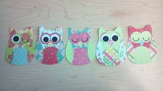 Paper owls for the nursery!