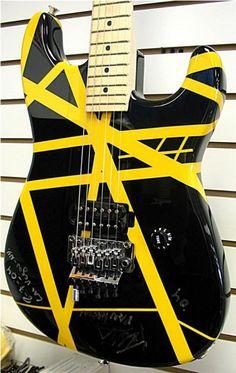 2004 Charvel EVH Art Series Van Halen Electric Guitar