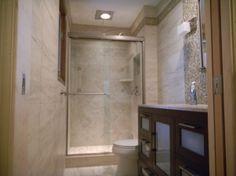 small luxury bathrooms | small space luxury master bath - bathroom