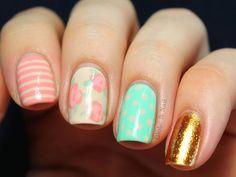 awesome pastel nail art