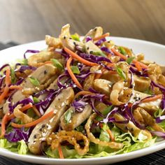 Asian Chicken Salad - Cafe Marlette - Zmenu, The Most Comprehensive Menu With Photos