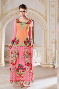 Simply superb and appealing salwar suit for any party. Whatsapp us for more inquiry/ order - +91 9574131646