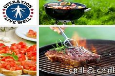 """Summer's winding down but that doesn't mean you can't still fire up the grill. Check out our latest e-book, """"Grill and Chill,"""" for great grilling and """"no cook"""" recipes."""