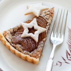 Pear and Hazelnut Tart.