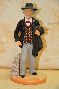 Centenaire Frederic Mistral - Santons Fouque - Aix en Provence Aix En Provence, Alsace, Creations, France, Illustrations, Costumes, Traditional, Diy, Inspiration