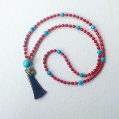 #mala #meditationbeads #rosariobudista #turquesa #turquoise #buda