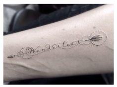 Wanderlust arm tattoo by dr woo | Tattoomagz.com