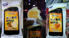 iPhone 5 ice cream in China, where else? :P