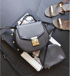 Find More Top-Handle Bags Information about new come rivet handbag lovely fashion messenger all match lady shoulder bags,High Quality handbag shoulder bag,China handbags hot Suppliers, Cheap bag from LikeGirl Store on Aliexpress.com