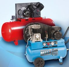 Piston Compressors @ FPS Air Compressors  Our range of piston compressors from 0.55 to 7.5 kW offer direct and belt driven models including lubricated, oil free, high pressure and low noise versions.  #aircompressors #dryers #air #compressors #dental #garage #diving #screw #piston #workshop #fini #nuair #automotive #industrial #professional