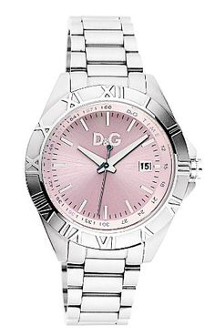 Dolce & Gabbana Chamonix Pink Dial Ladies Watch « Impulse Clothes