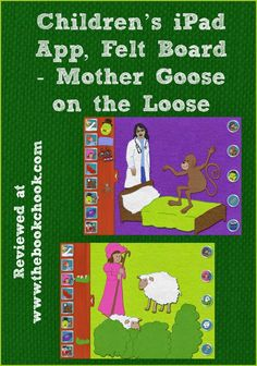 Review: Children's iPad App, Felt Board - Mother Goose on the Loose