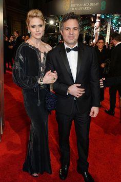 Pin for Later: Les Stars Se Rendent à Londres Pour les BAFTA Film Awards Sunrise Coigney et Mark Ruffalo