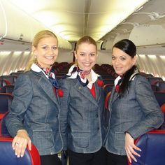 Stewardesses from All Over the World Slovakia, Sky Europe