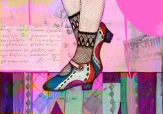 'New Shoes' by Agnes Laczo