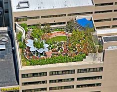 hospital rooftop garden - Google Search