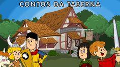 Desenho animado Brasileiro: Contos Da Taberna em português, com a Cavern...
