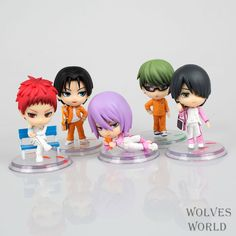 5Pcs/Lot New Hot Q Version Kuroko Tetsuya Kuroko no Basket Kise Ryota PVC Action Figure Model Toys Dolls A130 //Price: $US $8.08 & FREE Shipping //     #toyz24