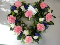 MY FLORISTRY: loose open heart, funeral arrangement