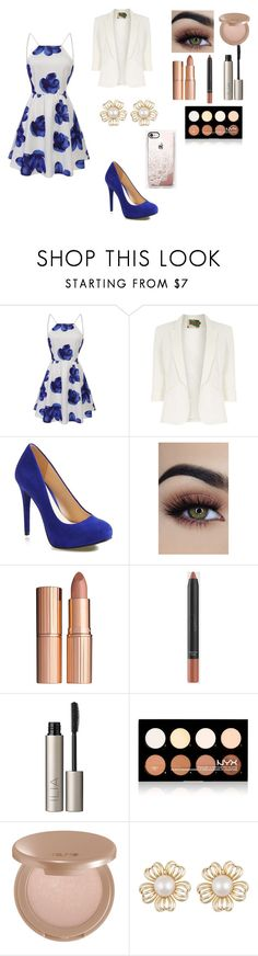 """""""Untitled #286"""" by mcl2000 on Polyvore featuring Jolie Moi, Jessica Simpson, Charlotte Tilbury, Ilia, NYX, tarte and Casetify"""
