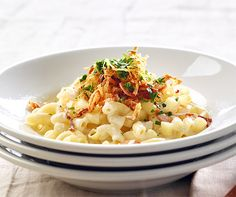 Käse-Hörnli Risotto, Potato Salad, Macaroni And Cheese, Spaghetti, Potatoes, Ethnic Recipes, Macaronis, Food, Al Dente