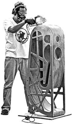 Loudspeaker design, Audio Moncky G8 Prototype Horn Loud Speaker