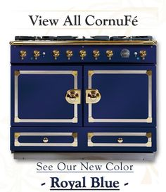 La cornue cornuf series ranges on pinterest la cornue ranges and brass - La cornue chateau 90 ...