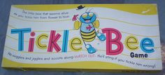 Schaper Toys | ... Game. Vintage 1950's Game. 1950's Schaper Tickle Bee Game. Made in USA