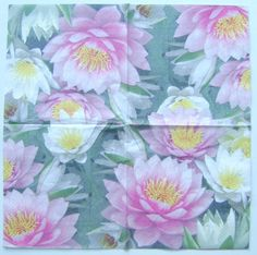 5 Paper Party Napkins Josephine Pack of 5 3 Ply Tissue Serviettes Floral Tissues