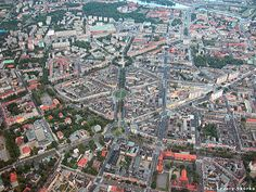 szczecin from the sky Poland Cities, European Countries, Urban Planning, Eastern Europe, Aerial View, Romania, City Photo, Barcelona, Tours