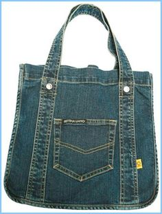 denim bag inspiration by Aniky Denim Purse, Tote Purse, Denim Jeans, Jean Purses, Purses And Bags, Mochila Jeans, Diy Sac, Denim Handbags, Recycled Denim