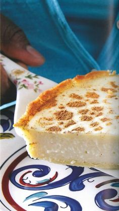 Celebrate National Milk Tart Day with this fabulous Milk Tree . Celebrate National Milk Tart Day today with this cool milk recipe. Custard Recipes, Milk Recipes, Tart Recipes, Baking Recipes, Dessert Recipes, Milktart Recipe, South African Desserts, Quick Meals For Kids, Melktert
