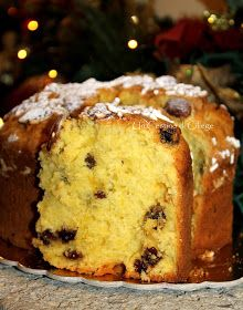 Italian Desserts, Italian Recipes, Best Banana Bread, Xmas Food, Chiffon Cake, Small Cake, Bakery Recipes, Biscotti, Sweet Bread