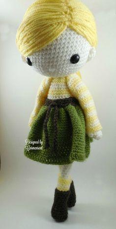 Simone  Amigurumi Doll Crochet Pattern