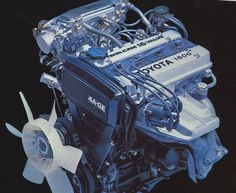 1985 Toyota Corolla GTS 4A-GE engine