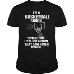 IM A BASKETBALL COACH T-Shirts, Hoodies. Check Price Now ==► https://www.sunfrog.com/Jobs/IM-A-BASKETBALL-COACH-Black-Guys.html?id=41382